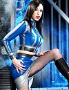 Supermodel EMILY MARILYN in Latex and Boots!